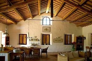 Die großzügigen Räumlichkeiten der Casa Montale laden ein zur Versammlung, zum Singen, zum Tönen - Foto C. Brouwers -